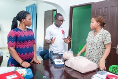 Advanced Life Support Training for Airport Women's Hospital.
